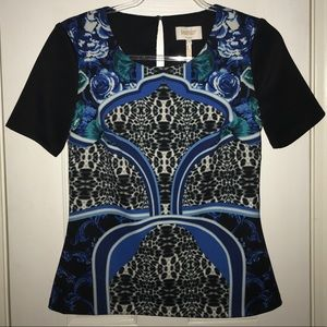 Laundry by Shelli Segal Baroque Top | Size 4